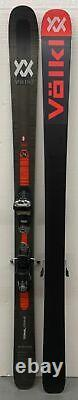 VOLKL MANTRA M5 USED DEMO SKIS With MARKER GRIFFON BINDINGS 184CM