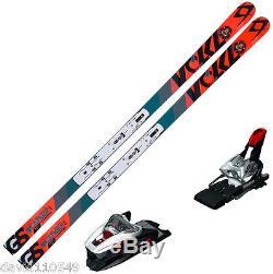VOLKL RACETIGER SW GSR WC UVO With Marker Plate XCELL 16 Binding NEW 114812K
