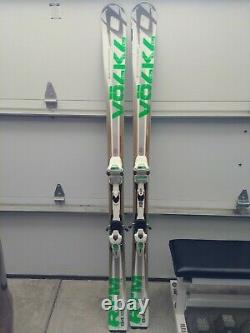 VOLKL RTM 84 Men's All Mountain Skis with Integrated Marker Bindings Size 176cm