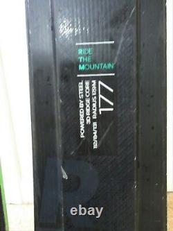 VOLKL RTM UVO 84 with MARKER iPT WIDE RIDE XL 12.0 bindings 177 cm
