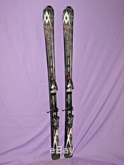 VOLKL Unlimited AC3 skis 170cm w Marker iPT Motion 14.0 adjustable ski bindings