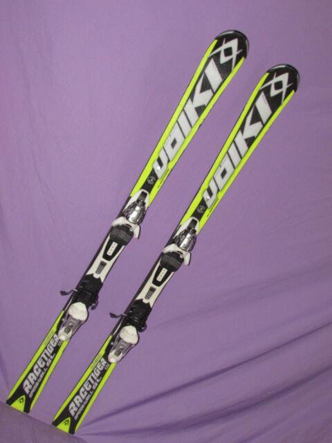 Volkl Wc Racetiger Sl Jr Race Skis 136cm With Marker Eps 10 Bindings On Plates