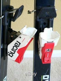 Vintage 194cm DYNAMIC MD6 Skis with MARKER M40 Bindings