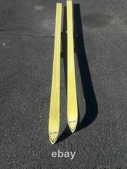 Vintage 1960s Used Head 360 Downhill Skis Look & Marker Bindings 210cm