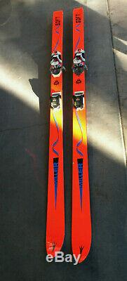 Vintage Miller Soft Skis 190cm with Marker MR Racing Twincam bindings
