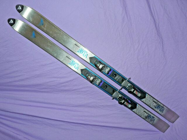 Volant Chubb Powder Fat Skis Steel! 170cm With Marker M51 Graphite Bindings Pow