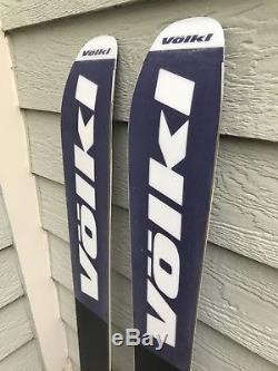 Volkl 90Eight Women's 156cm Ski withMarker Squire Adjustable Demo Bindings MINT
