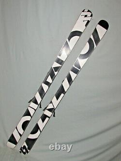 Volkl Alley all mtn freestyle twin tip skis 168cm with Marker FREE TEN bindings
