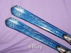 Volkl Attiva Unlimited AC3 Women's Skis 149cm Marker iPT Integrated Bindings