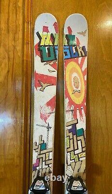 Volkl Bridge 187cm 128-95-115 Twin-Tip Skis withMarker Baron AT Bindings