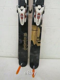 Volkl Gotama 186cm Partial Twin-Tip Skis withMarker Duke 16 Alpine Bindings +Skins