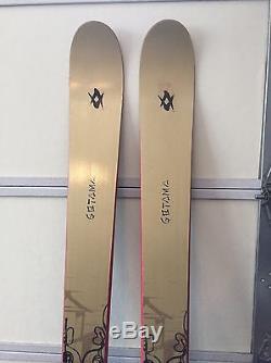 Volkl Gotama 190cm with Marker Barron Bindings