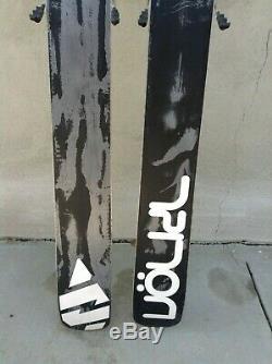 Volkl Gotama Men's Ski 186 cm Marker Griffon Demo Bindings USED