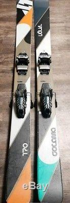 Volkl Gotama mens skis 170cm. With marker griffon Bindings