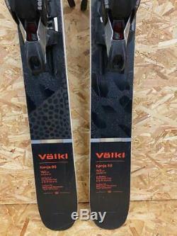 Volkl Kenja 88 2020 Womens Ex-Demo Skis + Marker Squire 11 TCx D Bindings 163cm