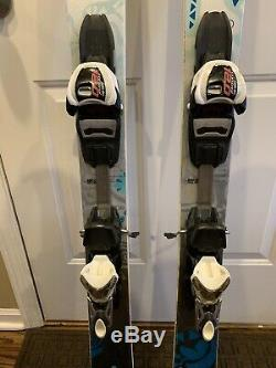 Volkl Kenja Used Women's Skis with Adjustable Marker 12.0 Bindings Size 149cm