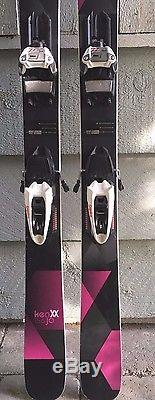 Volkl Kenja Women's Alpine Ski WithMarker Squire Binding- 154cm