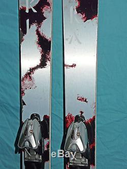 Volkl MANTRA 177cm Full-Camber All-Mtn SKIS with MARKER Titanium PC 13 Bindings
