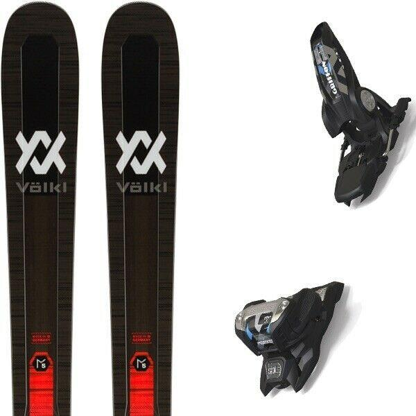 Volkl Mantra M5 Skis 2020 177cm With 2020 Marker Griffon Bindings 13 Id