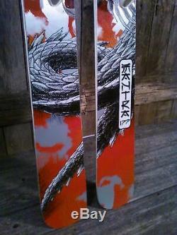 Volkl Mantra Skis 177 cm W / Marker Griffon Bindings. 2013 year