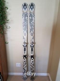 Volkl Nanuq Alpine Touring Skis with Marker Duke Bindings 184cm