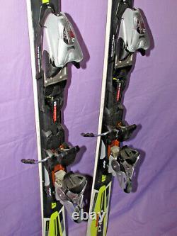 Volkl P60 World Cup SC Racing race skis 155cm w Marker Titanium Piston bindings