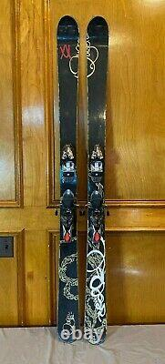 Volkl Queen Attiva 164cm All-Mountain Women's Skis withMarker Free 12.0 Bindings
