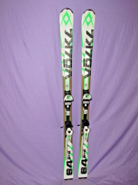 Volkl Rtm 84 All-mountain Rocker Skis 171cm With Marker Ipt Wideride Adj Bindings
