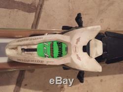 Volkl RTM 84 Skis 171 cm with Marker iPT Wideride Bindings White/Green/Black