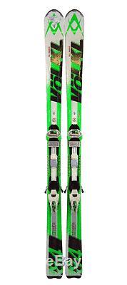Volkl RTM 84 Skis 171 cm with Marker iPT Wideride Bindings White/Green/Black V