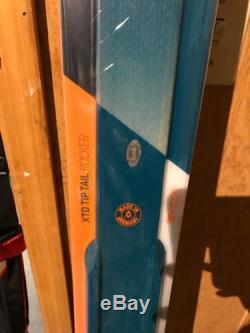 Volkl RTM 86 UVO 172 cm Skis with Marker IPT 12 Bindings BRAND NEW