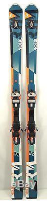 Volkl RTM 86 UVO Skis 182 cm Marker Wideride XL 12.0 WR Binding Demo/Used 2017