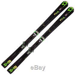 Volkl RTM 86 UVO Skis with Marker iPT Wide Ride 12.0 FR Bindings 115161