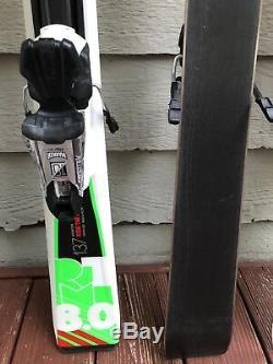 Volkl RTM 8.0 Ski with Marker Fastrak 10 Binding / 130cm / 137cm / 144cm / MINT