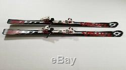 Volkl RTM 8.0 Skis 176 Cm with Marker Wideride Bindings