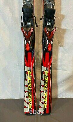 Volkl Race Tiger. 06 185cm 110-67-96 Giant Slalom Skis withMarker iPT Bindings