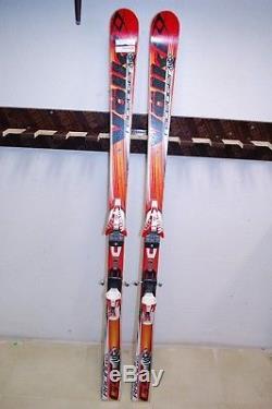 Volkl Racetiger GS 163 cm Ski + Marker Comp 10.0 Bindings