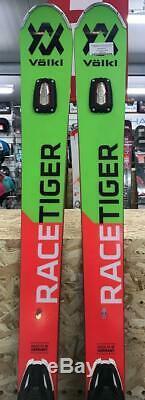 Volkl Racetiger GS 2019 Ex-Demo Skis 175cm + Marker RMOTION2 12 GW Bindings