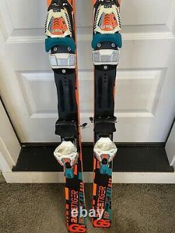 Volkl Racetiger GS Junior Race Skis 161 cm With Marker Comp 10 Bindings