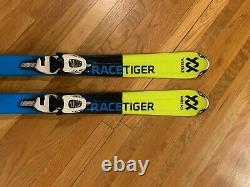 Volkl Racetiger Junior Skis130 Marker 4.5 Vmotion Junior Binding Made in Germany