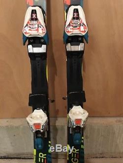 Volkl Racetiger SL 138cm World Cup Race Skis With Marker 12 Bindings