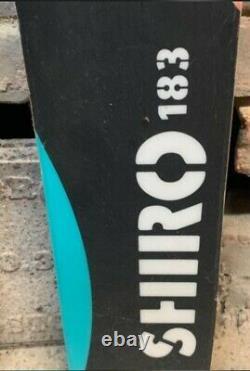 Volkl Shiro 183cm With Marker Jester Bindings, Din18