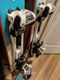 Volkl Shiro Skis 183cm With Marker Duke 16 AT Bindings 151 / 119 / 135 sidecut