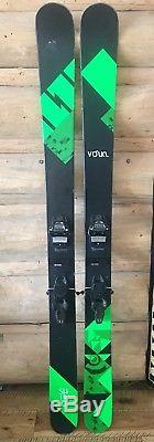 Volkl Shiro Skis 2015 183cm Mounted marker Jester 16 DIN Bindings