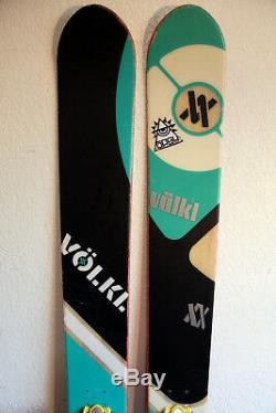 Volkl Shiro Twin Tip Powder Skis 183 cm. Marker Jester Pro Bindings NICE