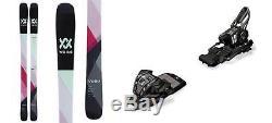Volkl Skis Yumi 161cm Skis 2018 & Marker Bindings M 11.0 TC EPS 90mm Black NEW