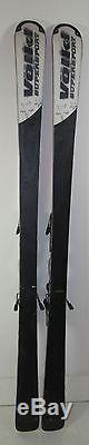 Volkl Supersport All Mountain 161cm Skis with Marker Bindings