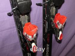 Volkl Supersport Superspeed skis 182cm with Marker Motion Piston 14 adj. Bindings