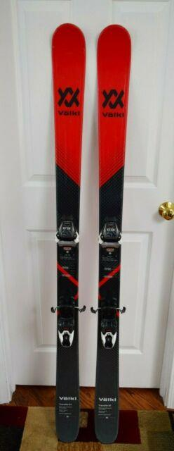 Volkl Transfer 81 Skis Size 158 Cm With Marker Bindings