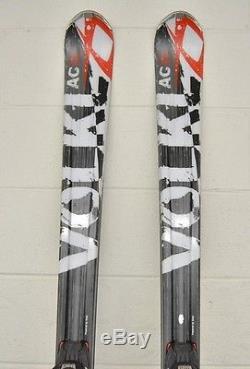 Volkl Unlimited AC30 177cm 124-80-107 Skis withMarker Wideride iPT Bindings GREAT